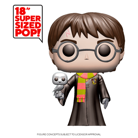 "Funko Pop! HP: Harry Potter - 18"" Harry Potter (Coming Soon) New York Toy Fair Reveals"