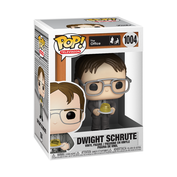 Funko Pop! TV: The Office - Dwight w/ Gelatin Stapler