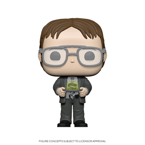 Funko Pop! TV: The Office - Dwight w/ Gelatin Stapler (Coming Soon) New York Toy Fair Reveals