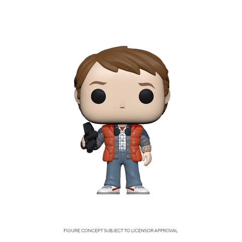 Funko Pop! Movies: BTTF - Marty in Puffy Vest (Coming Soon) New York Toy Fair Reveals