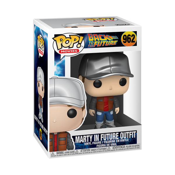 Funko Pop! Movies: BTTF - Marty in Future Outfit