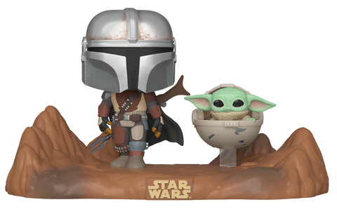 Funko POP! Star Wars Movie Moments: Mandalorian and Child