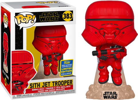 Funko Pop! Star Wars Sith Jet Trooper 2020 Summer Convention Exclusive (Buy. Sell. Trade.)
