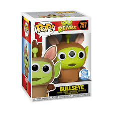 Funko POP Disney Pixar Remix Bullseye 757 Funko Shop Exclusive (Buy. Sell. Trade.)