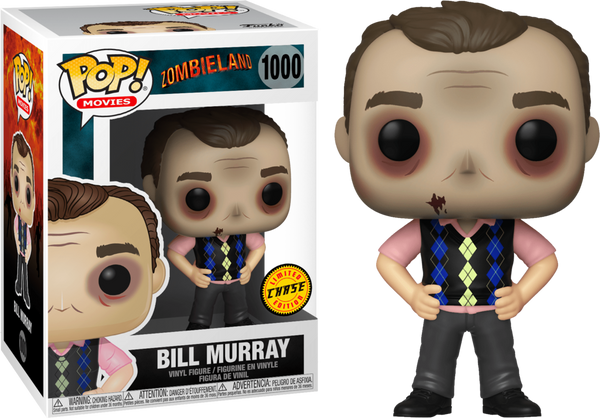 Funko Pop! Movies: Zombieland - Bill Murray Chase