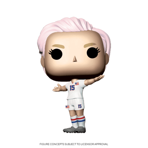 Funko Pop! Sports: USWNT - Megan Rapinoe (Coming Soon) New York Toy Fair Reveals
