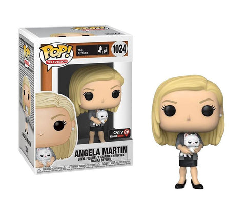 Funko Pop! Television The Office - Angela Martin GameStop Exclusive (Buy. Sell. Trade.)