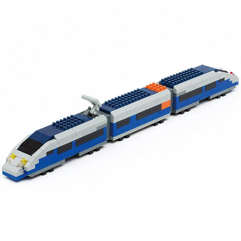 Nanoblock Blue Bullet Train 330pcs nGT-010