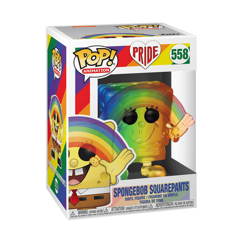 Funko Pop! Animation: Pride 2020 - Spongebob (Rainbow)