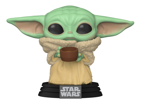Funko POP! Star Wars: Mandalorian- The Child Baby Yoda  W. Cup (Coming Soon)