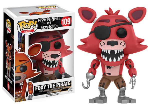 Pop! Games Five Nights At Freddy's Foxy The Pirate