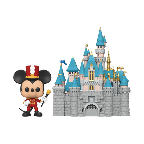 Funko POP! Town: Disney 65th - Castle with Mickey