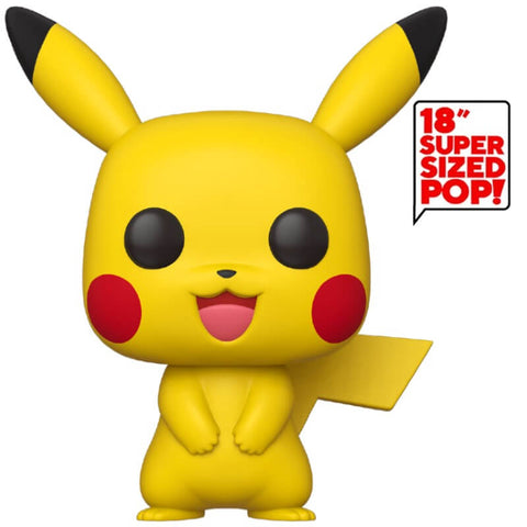 "Funko POP Games: Pokemon- 18"" Pikachu"