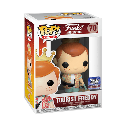 Funko POP Funko Hollywood- Tourist Freddy Funko Hollywood Exclusive(Buy. Sell. Trade.)