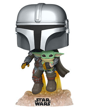 Funko POP! Star Wars: The Mandalorian - Mando Flying w/Jet Pack (Coming Soon)