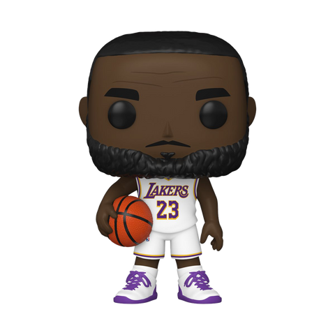 Funko POP! NBA Los Angeles Lakers- LeBron James Alternate Uniform