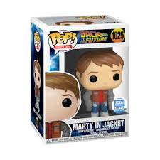 Funko POP! Back To the Future Marty in Jacket 1025 Funko Shop Exclusive (Buy. Sell. Trade.)