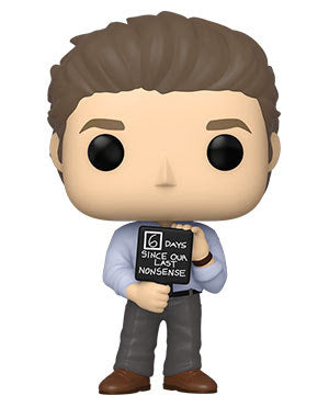 Funko Pop! TV:The Office- Jim w/Nonsense Sign (Coming Soon)