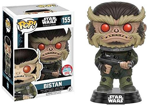 Funko Pop! Star Wars Rogue One Bistan 2016 NYCC Exclusive (Buy. Sell. Trade.)