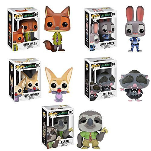 Pop! Movies Zootopia Set of 5