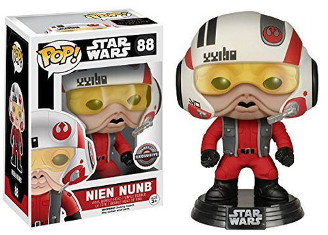 Funko Pop! Star Wars Nien Nunb Gamestop Exclusive (Buy. Sell. Trade.)