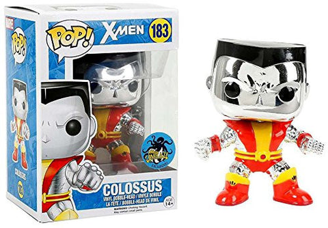 Funko Pop! X-Men Metallic Colossus 2016 Comikaze Exclusive (Buy. Sell. Trade.)