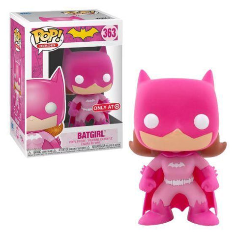 Funko POP Heroes Batgirl 363 Breast Cancer Awareness Target Exclusive (Buy. Sell. Trade.)