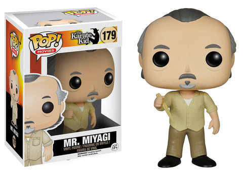 Pop! Movies Vinyl The Karate Kid Mr. Miyagi