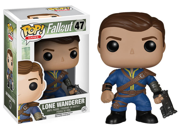Pop! Games Vinyl Fallout Lone Wanderer Male
