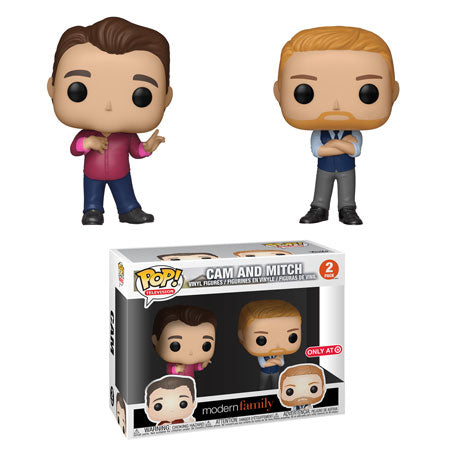 Funko Pop! Television Modern Family Cam and Mitch 2 pack Target Exclusive (Buy. Sell. Trade.)