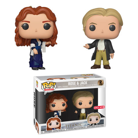 Funko Movies Titanic Rose and Jack 2 pack Target Exclusive (Buy. Sell. Trade.)