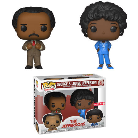 Funko Pop! Television The Jeffersons George and Louise Jefferson 2 pack Target Exclusive (Buy. Sell. Trade.)