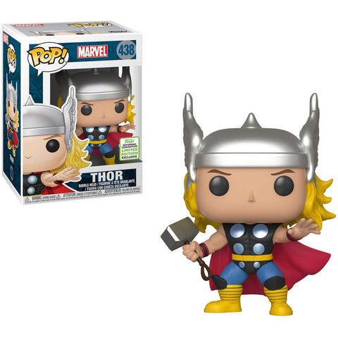 Funko POP Marvel Classic Thor 438 2019 Spring Convention Shared Sticker (Buy. Sell. Trade.)