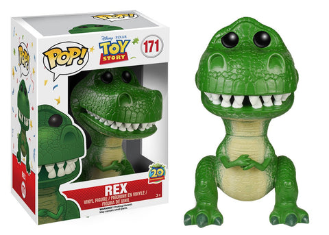 Funko Pop! Disney Vinyl Toy Story- Rex (Vaulted)
