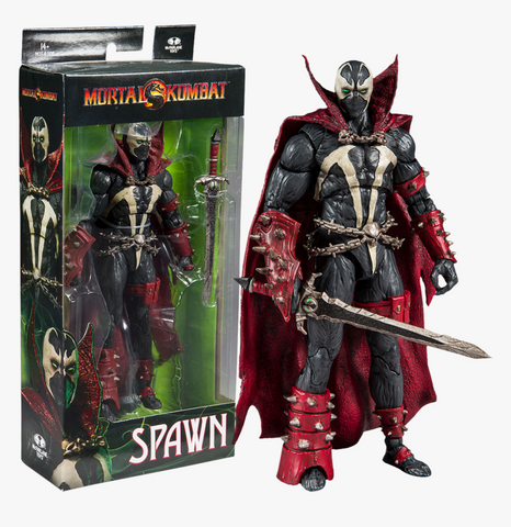 McFarlane Toys Mortal Kombat Spawn Action Figure (Buy. Sell. Trade.)