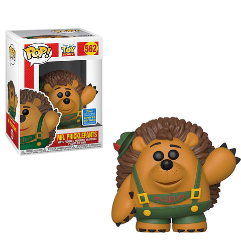 Funko Pop Disney: Toy Story - Mr. Pricklepants 562 SDCC Exclusive Shared Sticker ( Buy. Sell. Trade)