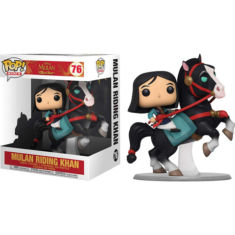 Funko Pop! Rides: Mulan - Mulan On Khan