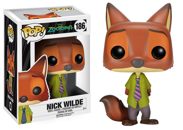 Pop! Movies Zootopia Nick Wilde