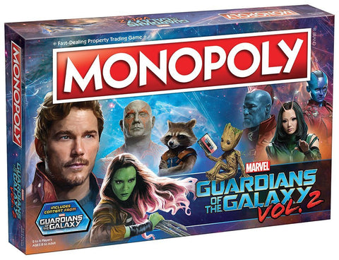 Monopoly: Guardians of the Galaxy Volume 2 Edition