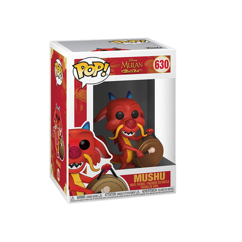 Funko Pop! Disney: Mulan - Mushu with Gong