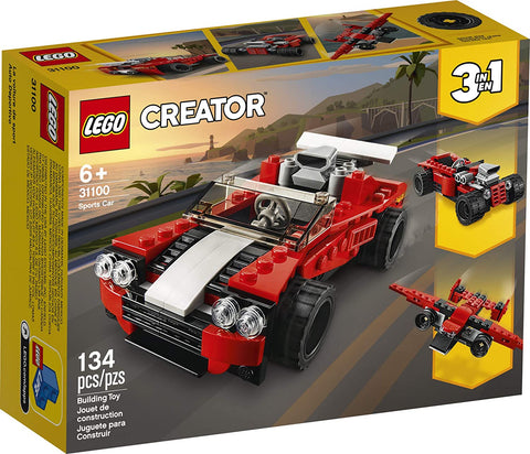 LEGO Creator 3in1 Sports Car Toy Building Kit
