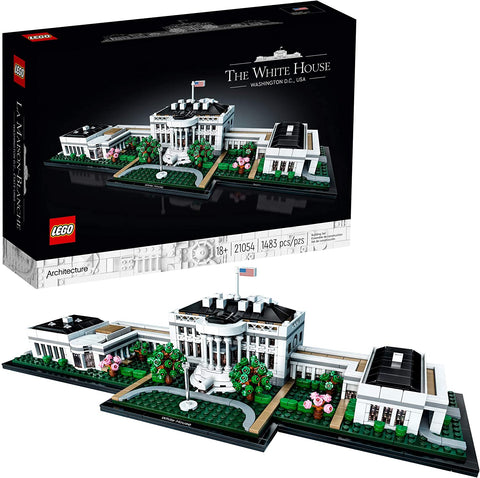 LEGO Architecture - The White House Building Kit (1,483 Pieces)