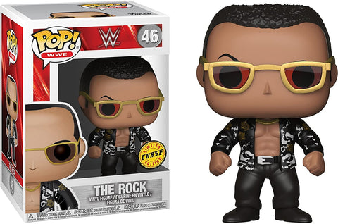 Funko Pop! WWE The Rock 46 Chase (Buy. Sell. Trade.)