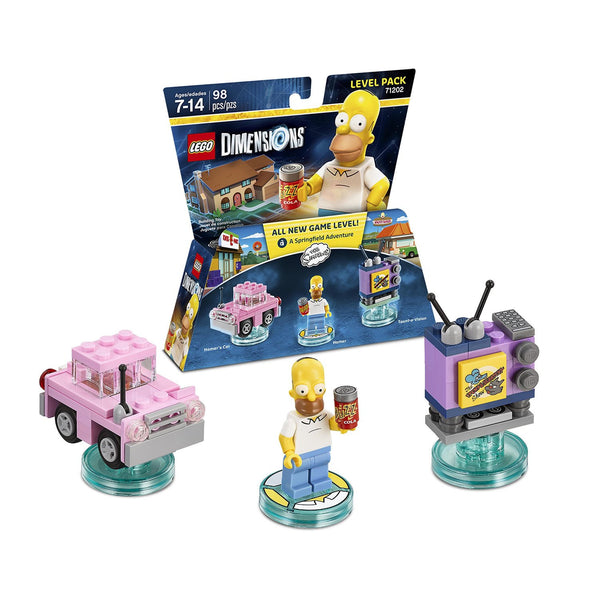 Lego Dimensions The Simpsons A Springfield Adventure Level Pack # 71202