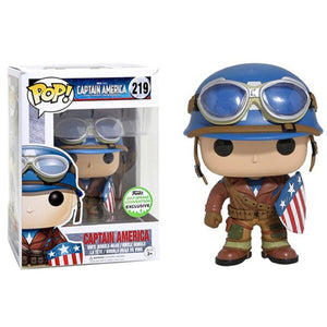 Funko Pop! Marvel Captain America The First Avenger Captain America 219 (ECCC 2017 Shared Sticker) (Buy. Sell. Trade.)