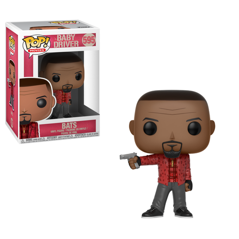Funko POP! Movies: Baby Driver - Bats