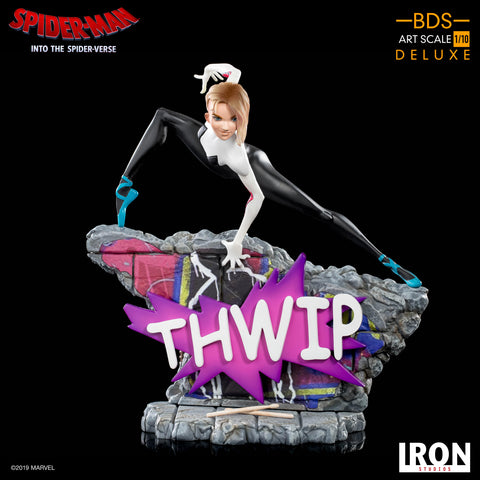 Iron Studios Spider-Man Into The Spider Verse Spider-Gwen BDS Art Scale 1/10 (Coming April-May 2020)