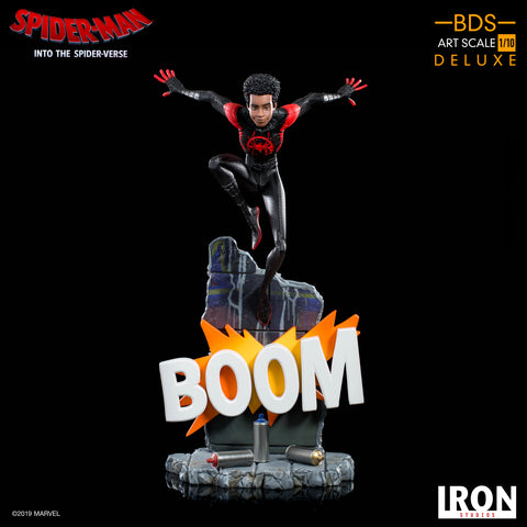 Iron Studios Spider-Man Into The Spider Verse Miles Morales BDS Art Scale 1/10 (Coming April-May 2020)