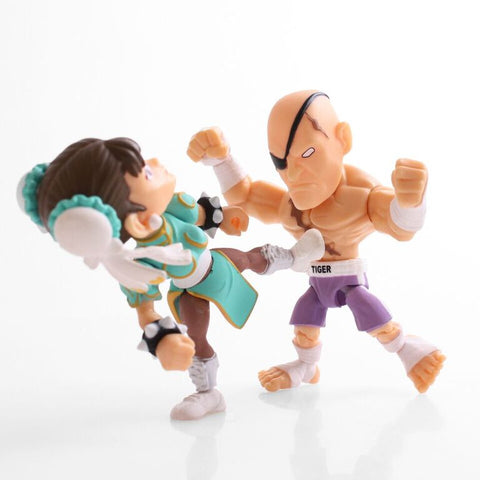 The Loyal Subjects SDCC 2017 Exclusive Street Fighter Chun-Li vs Sagat 2 pk