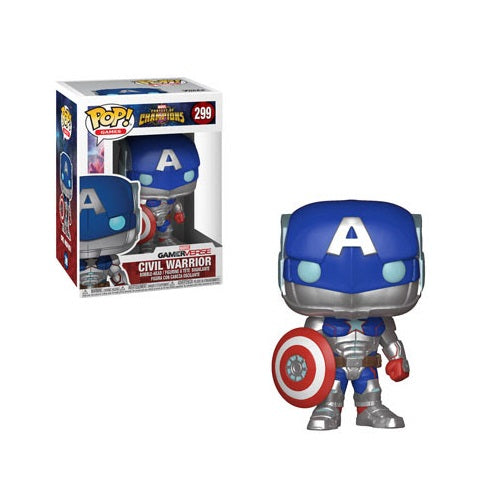 Funko Pop! Marvel: Contest of Champions - Civil Warrior